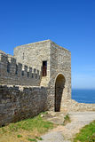 Medieval fortress on Cape Kaliakra, Black Sea Stock Images
