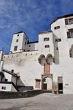 Medieval fortress and castle. Salzburg, Austria. Royalty Free Stock Photography