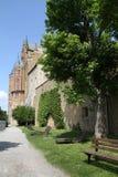 Medieval Fortress, Hohenzollern Castle, Black Forest, Stuttgart, Stock Image
