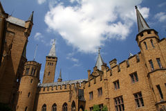 Medieval Fortress, Hohenzollern Castle, Black Forest, Stuttgart, Stock Photos