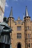 Medieval Fortress, Hohenzollern Castle, Black Forest, Stuttgart, Royalty Free Stock Images