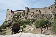 Medieval fortress of Italy Royalty Free Stock Image