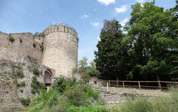 Medieval fortress of Italy Royalty Free Stock Images