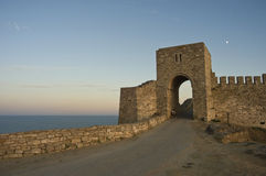 The medieval fortress of Kaliakra Royalty Free Stock Images