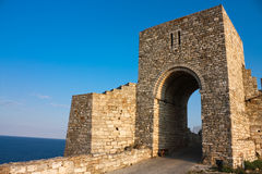 The medieval fortress of Kaliakra. Bulgaria Royalty Free Stock Image