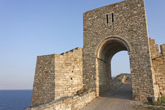 The medieval fortress of Kaliakra. Bulgaria Stock Photo