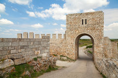 Medieval fortress of Kaliakra gate, Bulgarian Black Sea Coast Royalty Free Stock Photo
