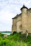 Medieval Fortress Khotyn Royalty Free Stock Photo