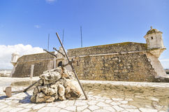 Medieval Fortress in Lagos Royalty Free Stock Image
