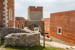 Medieval fortress Medvedgrad Royalty Free Stock Images