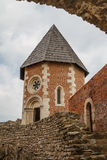 Medieval fortress Medvedgrad near Zagreb Royalty Free Stock Images