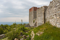 Medieval fortress Medvedgrad near Zagreb Stock Photography