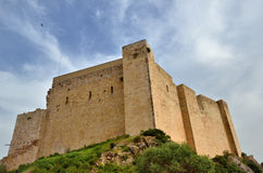 Medieval fortress Miravet Stock Photo