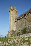 Medieval fortress in Montalcino (Italy) Stock Images