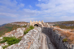 A medieval fortress Ovech in Bulgaria Stock Photography