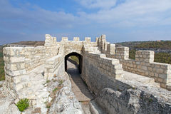 A medieval fortress Ovech in Bulgaria Royalty Free Stock Image