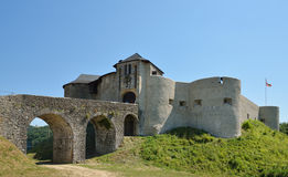 Medieval fortress in the Pays Basque Royalty Free Stock Image
