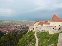 Medieval fortress Rasnov Stock Image