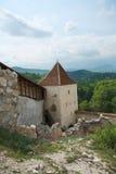 Medieval fortress Rasnov, Romania royalty free stock image