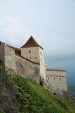 Medieval fortress Rasnov, Romania stock image