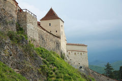 Medieval fortress Rasnov, Romania Stock Photos