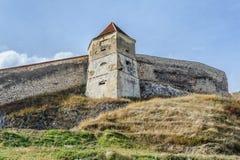 Medieval fortress in Rasnov, Transylvania, Brasov, Romania Royalty Free Stock Photos