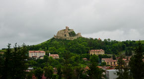 Medieval fortress in Romania Royalty Free Stock Photo