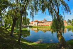Medieval fortress in Romanian country Transylvania, city of Fagaras Stock Photos