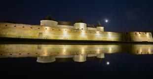 Medieval fortress in Romanian country Transylvania, city of Fagaras Stock Photos