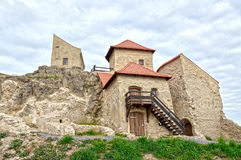 Medieval fortress. Ruins of Rupea Fortress, from medieval Transylvania Royalty Free Stock Images