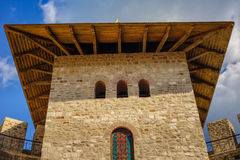 Medieval fortress in Soroca, Republic of Moldova. Architectural details of medieval fort in Soroca, Republic of Moldova. Fort  built in 1499 by Moldavian Prince Stock Photography