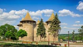 Medieval fortress in Soroca, Republic of Moldova royalty free stock photos