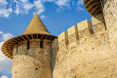 Medieval fortress in Soroca, Republic of Moldova. Partial view of medieval fort in Soroca, Republic of Moldova. Fort  built in 1499 by Moldavian Prince Stephen Stock Image