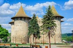 Medieval fortress in Soroca, Republic of Moldova royalty free stock image