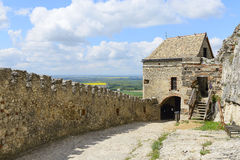 Medieval fortress Sumeg. Hungary royalty free stock photo