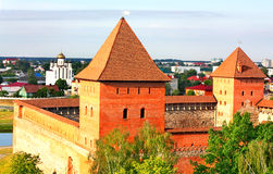 Medieval Fortress, Top View Royalty Free Stock Image