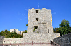 Medieval fortress tower Royalty Free Stock Photo