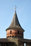 Medieval fortress tower Royalty Free Stock Photos