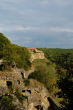 Medieval fortress town Chufut-Kale, Bakhchisaray Royalty Free Stock Images