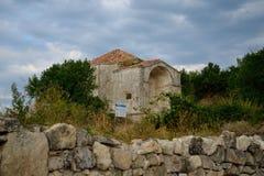 Medieval fortress town Chufut-Kale, Bakhchisaray, Crimea Stock Image