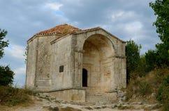 Medieval fortress town Chufut-Kale, Bakhchisaray, Crimea Royalty Free Stock Image