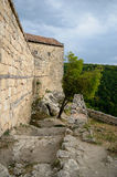 Medieval fortress town Chufut-Kale, Bakhchisaray Stock Photography