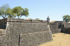 Medieval fortress Stock Photography