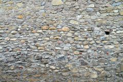 medieval fortress wall texture Royalty Free Stock Photos