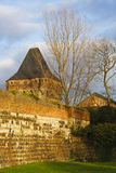 Castle Zons, Germany Stock Photos