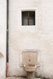 Medieval Fountain in Hohensalzburg Castle Royalty Free Stock Photography