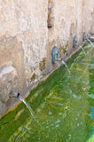 Medieval fountain. Laterza. Puglia. Italy. Stock Photos