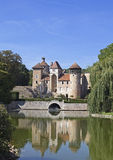 Medieval french castle Royalty Free Stock Image