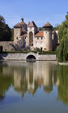 Medieval french castle Royalty Free Stock Images