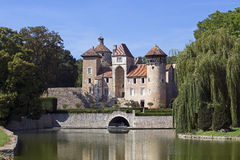 Medieval french castle Royalty Free Stock Photos